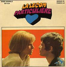 BOF LA LECON PARTICULIERE FRANCIS LAI / NICOLE CROISILLE FRENCH ORIG EP OST