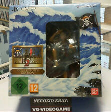 ONE PIECE PIRATE WARRIORS 2 COLLECTOR'S EDITION. NUOVA  PLAYSTATION 3