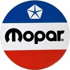 "Mopar Round Metal Sign 12"" (st)"