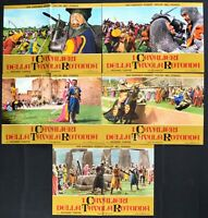 Fotobusta The Knights Of round Table Richard Thorpe Robert Taylor R157