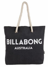 Billabong Women's Essential Beach Bag Cotton Canvas Black