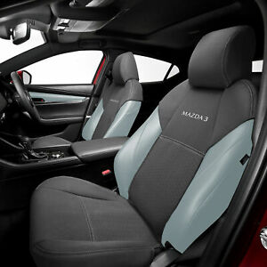 2 x Genuine Mazda 3 BP Front Seat Covers Neoprene 2019-2022 Accessory BP11ACSCF