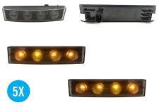 5x SCANIA Serie 5 P & R cable (2004-2010) Visera Lámpara LED Naranja Ámbar