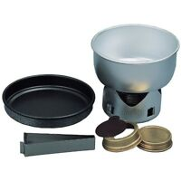 Mini Trangia Stove & Cookset - Portable Camping Stove with Spirit Burner