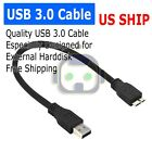 USB 3.0 CABLE CORD FOR SEAGATE BACKUP PLUS SLIM PORTABLE EXTERNAL HARD DRIVE HDD
