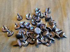 Original WW2 British Hob Nails, ammo boots, shoe nails hobnails. Set of 50!
