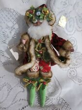 Mark Roberts Bellsnickle Fairy Santa Small 1280/5000 Coa