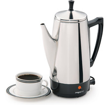 Presto Classic 12-Cup Stainless Steel Electric Percolator Automatic Coffee Maker
