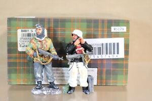 KING & COUNTRY WS179 WWII GERMAN TIGER TANK GUARDS BOXED paf