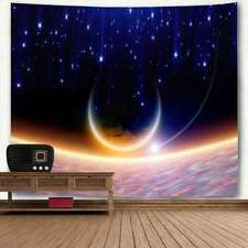 Galaxy Planet Tapestry Wall Hanging Tapestry Art Home Decoration Bedspread Throw