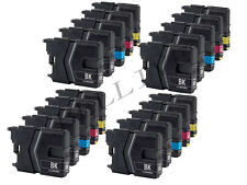 20 CARTUCCE PER STAMPANTE BROTHER LC985 DCP-J315W MFC-J415W DCP-J125 MFC-J265W