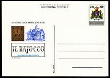 San Marino P 58 **, Zirkel für Philatelie + Münzen