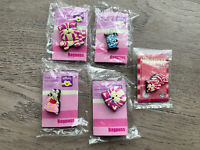 Set Of Bagpuss Charity Pins Asthma UK Charity. Vintage Pins Badges In Packet X 4