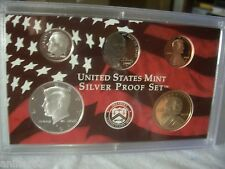 2008 S SILVER US MINT PROOF PARTIAL CAMEO  KENNEDY DIME DOLLAR NICKEL FREE SH