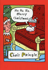 Chris Pringle 12 Funny Boxed Christmas Cards by Nobleworks