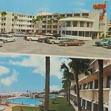 Vintage Postcard Kings Inn Motel Daytona Beach Florida 1972