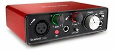Focusrite Scarlett solo (2nd Generation) EX Expo