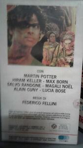 VHS SATYRICON di Federico Fellini(1969)  edizione Univideo