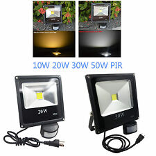 220v flood light waterproof light 10W-50W surper bright motion sensor light