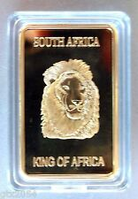 South Africa, Lion, Gold Plated bar, Nature, Animal, Wild