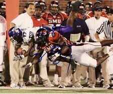CORY ROGERS SMU MUSTANGS SIGNED AUTOGRAPHED 8X10 PHOTO W/COA