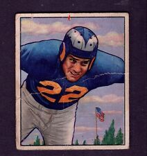 1950 Bowman #85 Fred Naumetz Los Angeles Rams Poor