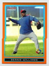 2009 Bowman Chrome BERNIE WILLIAMS Rare ORANGE REFRACTOR #25/25 Puerto Rico WBC