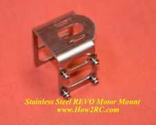 Stainless Steel  REVO , Motor Mount, Battery tray, with straps,