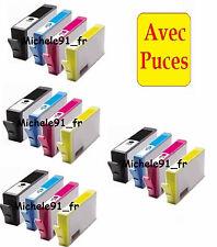 Cartouches d'encre compatibles HP 364 XL AVEC PUCE pour imprimantes de marque HP