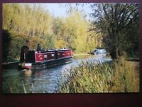 POSTCARD BUCKINGHAMSHIRE CAMPBELL PARK - THE GRAND UNION CANAL