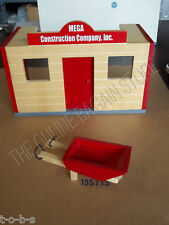 Pottery Barn Kids Construction Wood Building Train Brio Westport Railroad office