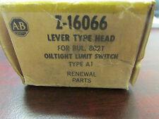 Allen Bradley Z 16066 Lever Type Head oiltight Limit Switch Type A1