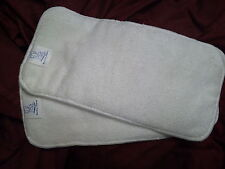 2 Cloth Diaper Liners Inserts Microfiber LARGE BEST!!