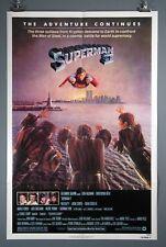 "Superman II, Original Poster 27x41"" Christopher Reeves"