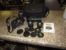 Canon EOS Rebel T5 1200D 18.0MP Digital SLR Camera - Canon 75-300mm lens & More