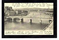 cpm 69 LYON - Vue sur la Saône le Pont Tilsit