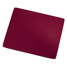 Hama Mouse Pad Mat for PC Laptop Computer Keyboard Office Home Desk Red
