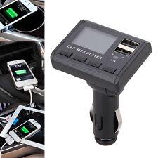 Transmetteur FM Numérique Lecteur MP3  Double USB Charge Chargeur de Voiture Car