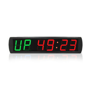 Digital Clock Interval Timer Gym Crossfit Training Fitness Timer Wall Clock Big