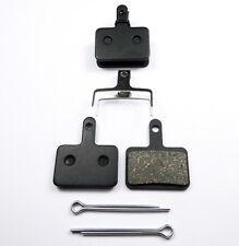 2 Pairs of Resin Brake Pads for Shimano Deore - B01S B01 INCL SPLIT PIN