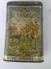 VINTAGE ADVERTISING DUNNSBORO TOBACCO VERTICAL POCKET  TIN  268-Y