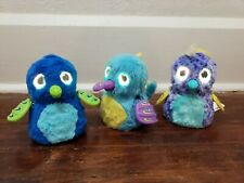 Hatchimals Lot of 3 Electronic Interactive Toys Lights Sound Set A