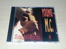 YOUNG M.C. STONE COLD RHYMIN CD 1989 US HIP HOP RAP.