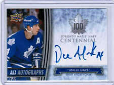 2017 UD TORONTO MAPLE LEAFS CENTENNIAL ANDREYCHUK UNCLE DAVE AKA AUTOGRAPH AUTO