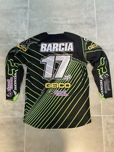 Justin Barcia Fox #17 Geico Jersey