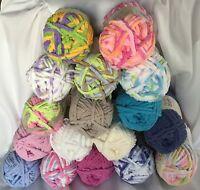 Bernat Baby Blanket Yarn 3.5 oz 100 g Skeins Large Selection of Chenille Yarn