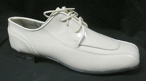 New Ivory Cream Jean Yves Cosmopolitan Tuxedo Shoes Formal *Damaged Discount*