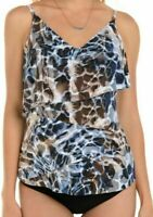 Magicsuit by Miraclesuit Women's Tankini Two Piece Swimsuit Size 10 Chloe