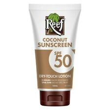 Reef Coconut SPF 50 Sunscreen Dry-Touch Lotion 150mL Broad Spectrum Hydrating