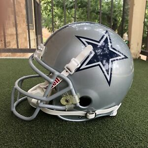 Dallas Cowboys Game Worn Issued NFL Football Helmet